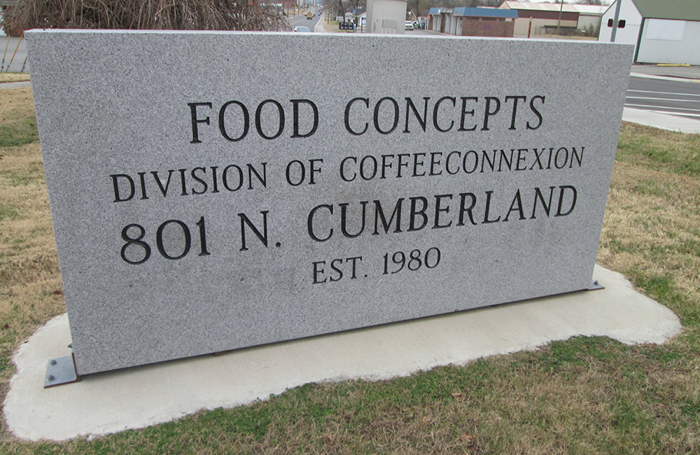 Food Concepts sign