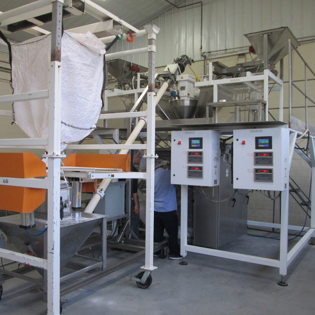 machinery on production floor
