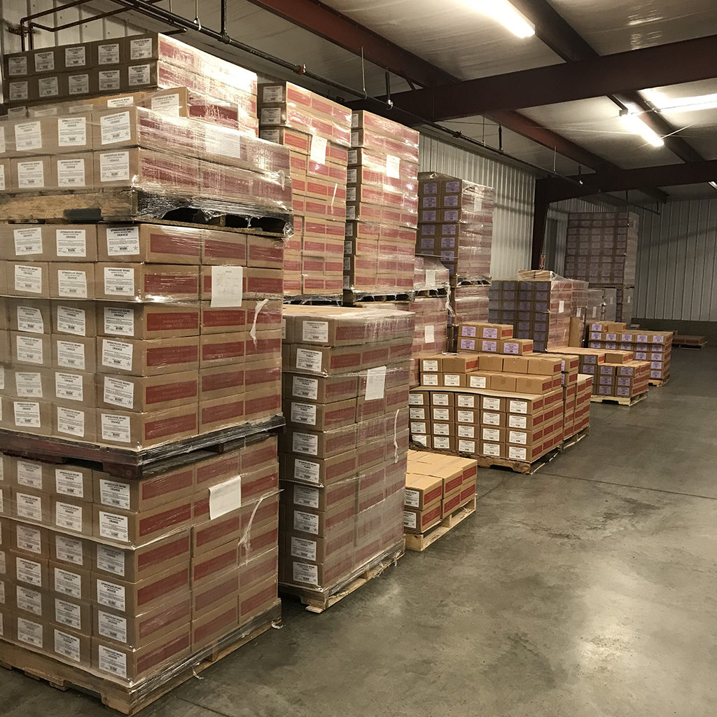 products in warehouse